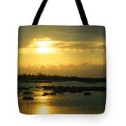 Sunset In Camargue - France Tote Bag