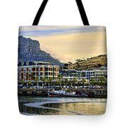 Sunset In Cape Town Tote Bag