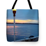 Sunset In December Tote Bag