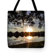 Sunset In Florida Tote Bag