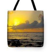 Sunset In Kauai Tote Bag