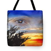 Sunset In My Eyes Tote Bag