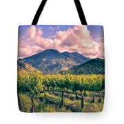 Sunset In Napa Valley Tote Bag