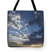 Sunset In New Mexico Tote Bag