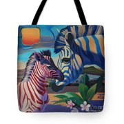 Sunset In Ngoro Ngoro Tote Bag