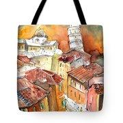 Sunset In Pisa Tote Bag