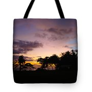 Sunset In Punta Banco Tote Bag