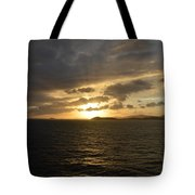 Sunset In The Caribbean Tote Bag