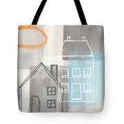 Sunset In The City Tote Bag