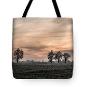 Sunset In The Country - Orange Tote Bag