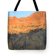 Sunset In The Desert Canyon 2 Tote Bag