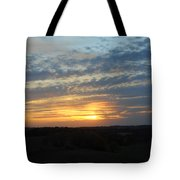 Sunset In The Distance Tote Bag
