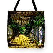 Sunset In The Garden  Tote Bag