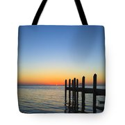 Sunset In The Keys Tote Bag