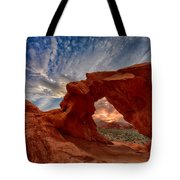Sunset In The Valley Of Fire Tote Bag