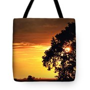 Sunset In The Valley Tote Bag