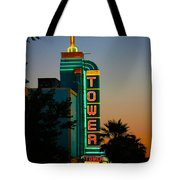 Sunset In The Ville Tote Bag