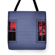 Sunset In The Windows Tote Bag