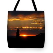 Sunset In Utah Tote Bag