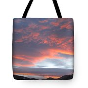 Sunset In Vail Colorado Tote Bag