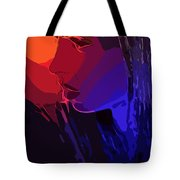 Sunset In Your Face Tote Bag