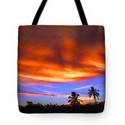Sunset Key Largo Filtered Tote Bag