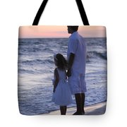 Sunset Kids Tote Bag