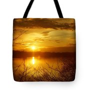 Sunset Lake Galena Tote Bag