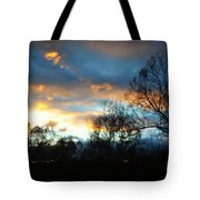 Sunset - Late Fall Tote Bag