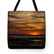 Sunset Layers Tote Bag