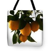Sunset Lemons Tote Bag