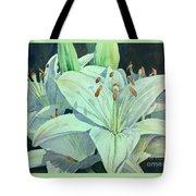 Sunset Lily Tote Bag