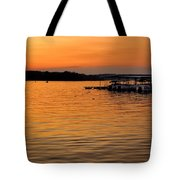 Sunset Marina Tote Bag
