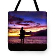 Sunset Maui Style Tote Bag