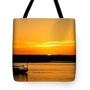 Sunset Morro Bay California Tote Bag