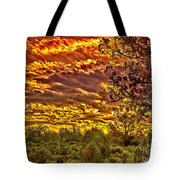 Sunset Navajo Tribal Park Canyon De Chelly Tote Bag