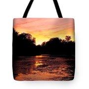 Sunset Near Rosemere - Qc Tote Bag