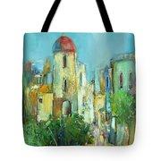 Sunset Neighborhood Tote Bag