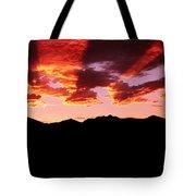 Bitterroot Sunset Tote Bag