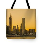 Sunset Ny Tote Bag