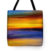 Sunset Of Light Tote Bag