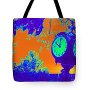 Sunset Of Time Tote Bag