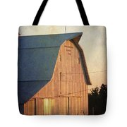 Sunset On A Barn Tote Bag