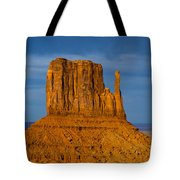 Sunset On A Mitten Tote Bag