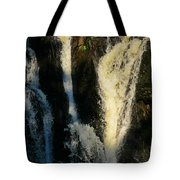 Sunset On A Waterfall Tote Bag