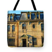 Sunset On An Old Toronto Home Tote Bag