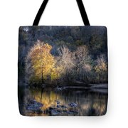 Sunset On Billy Goat Trail Tote Bag