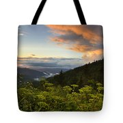Sunset On Clingman's Dome Tote Bag