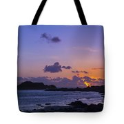 Sunset On Guernsey Tote Bag