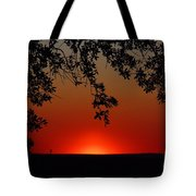 Sunset On Jekyll Island Tote Bag